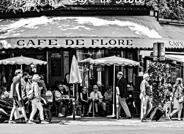 Pariscafedefloreb&w - Copy copy - Copy copy